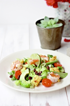 YMK image - grilled corn shrimp salad-1