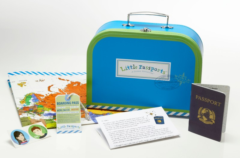 Little Passports on Crayons and Croissants