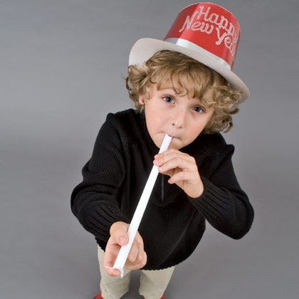 Ring In the New Year with the Kids