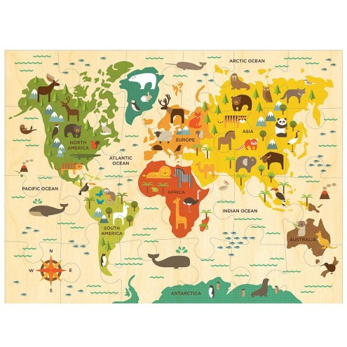 Around the World With Puzzles