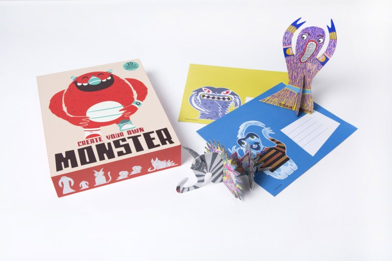 s busy for hours? Create Your Own Monster is perfect for the young and the young at heart!