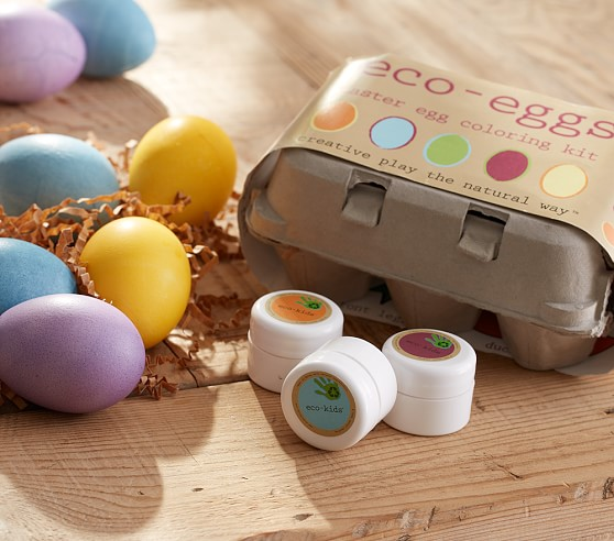 Eco-Friendly Easter Egg Decorating Ideas | Crayons and Croissants